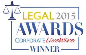Corp LiveWire - 2015 Award Logo