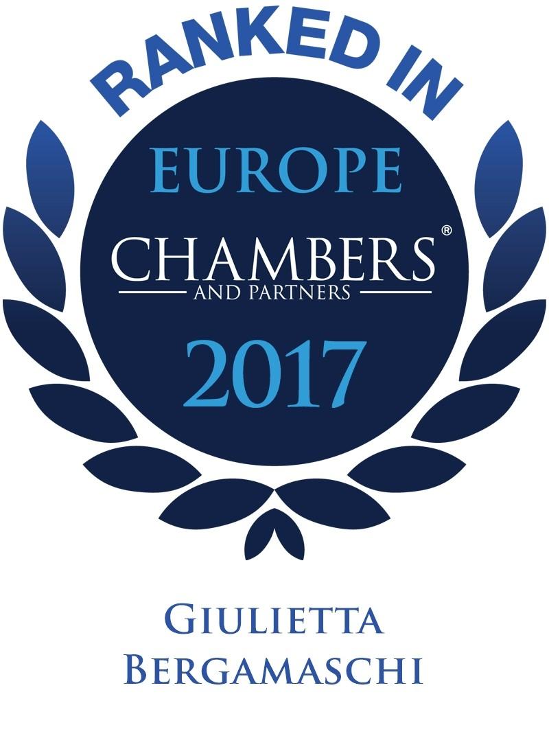 LEXELLENT - Chambers 2017 - Logo for Giulietta Bergamaschi