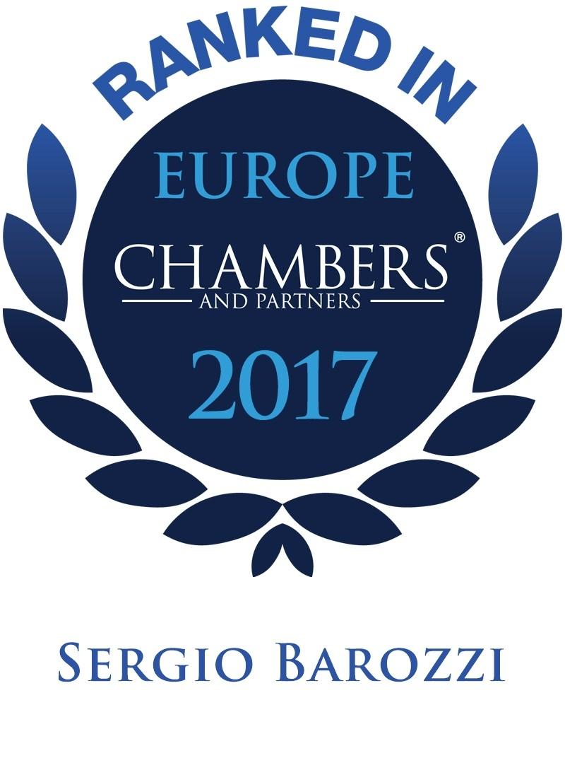 LEXELLENT - Chambers 2017 - Logo for Sergio Barozzi